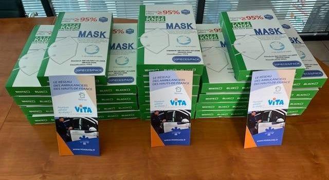 Des masques pour nos adhérents